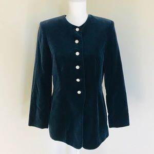 Lord and Taylor Velvet Jacket